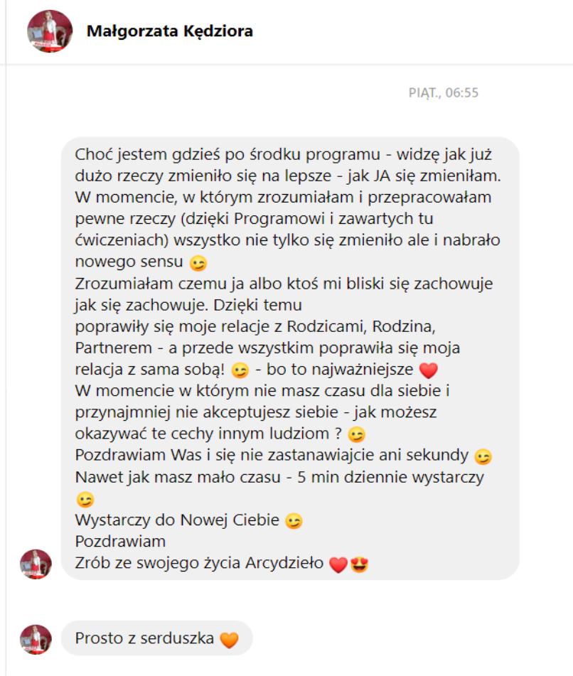opinia Małgosia